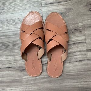 Madewell Boardwalk sandal 8 1/2